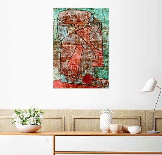 Posterlounge Wandbild - Paul Klee »gypterin«