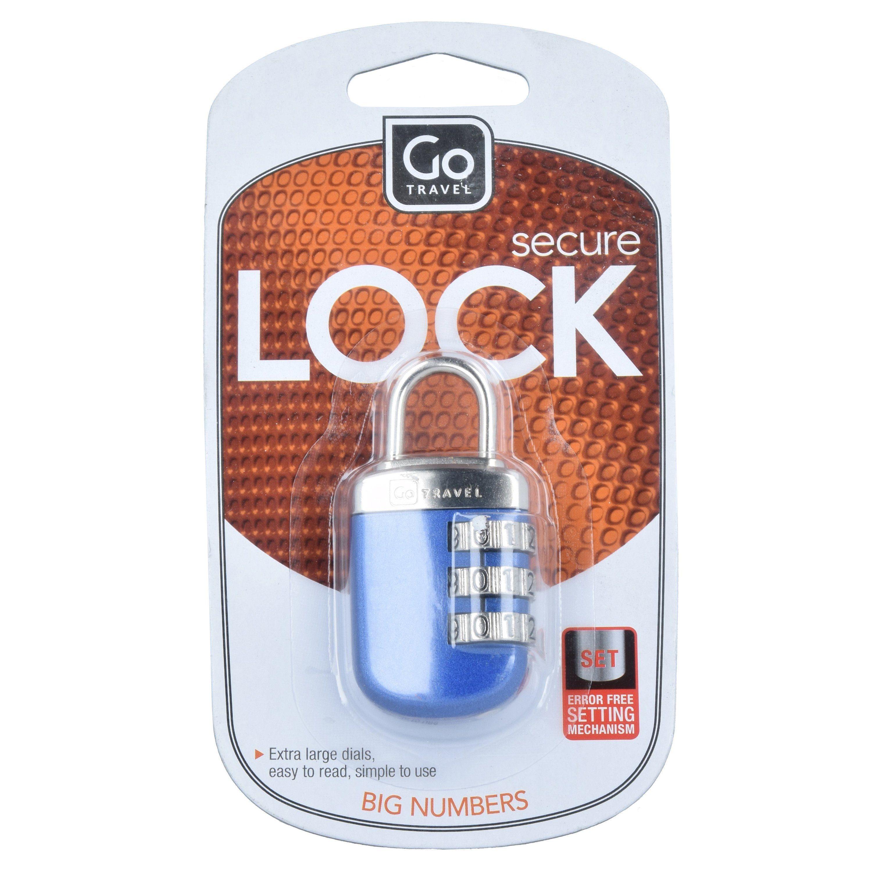 Go Travel Secure Lock Kofferschloss 6 cm
