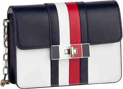Tommy Hilfiger Handtasche »Corporate Lock Leather Crossover 4475«