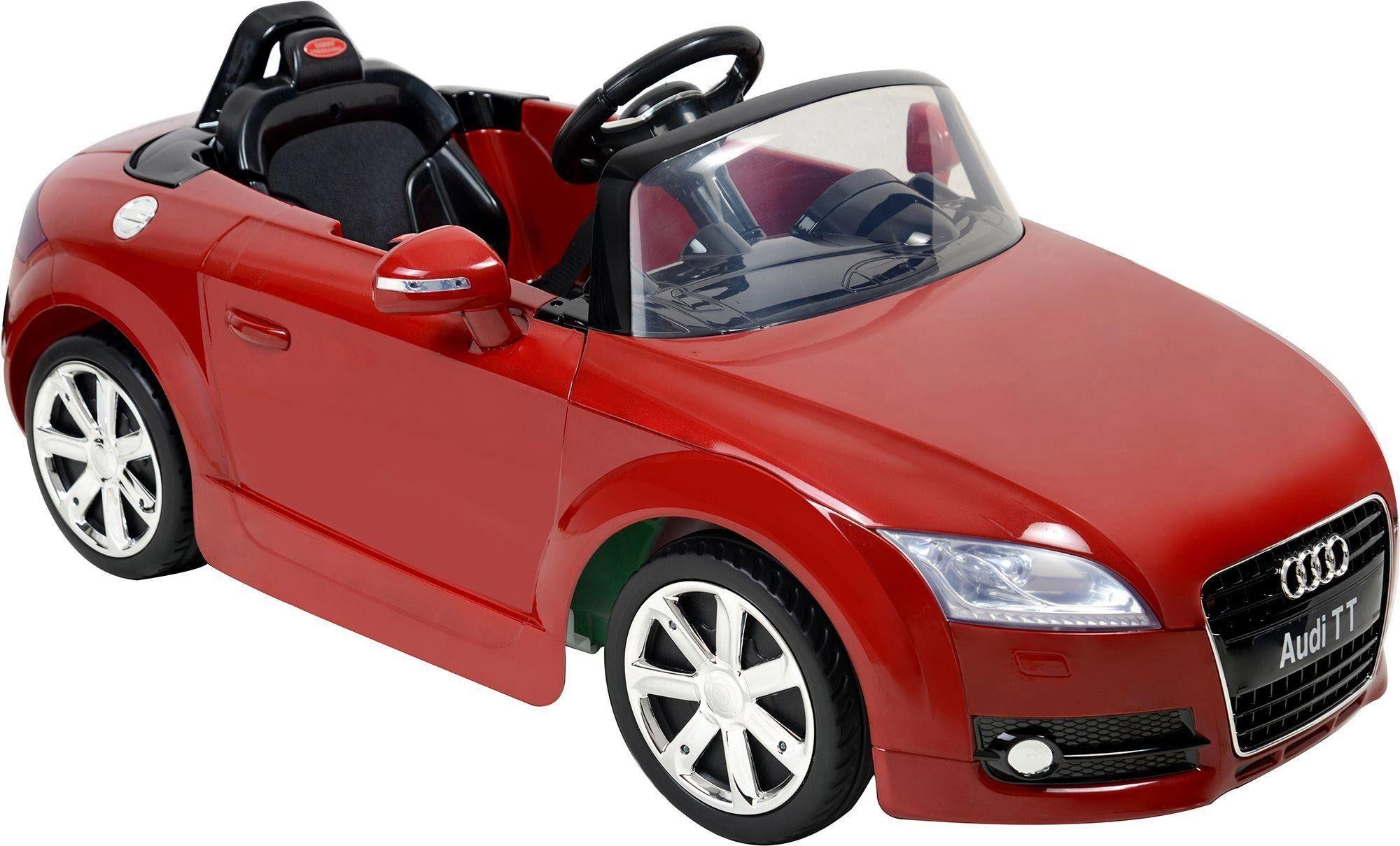 Carromco Elektrofahrzeug für Kinder, »Audi TT mit MP3 Anschluss«