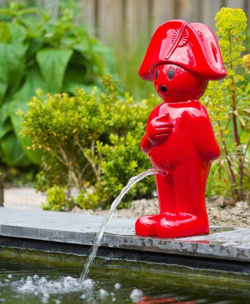 UBBINK Wasserspiel »BOY Napoleon III«, BxTxH: 23,5x32x66 cm, rot