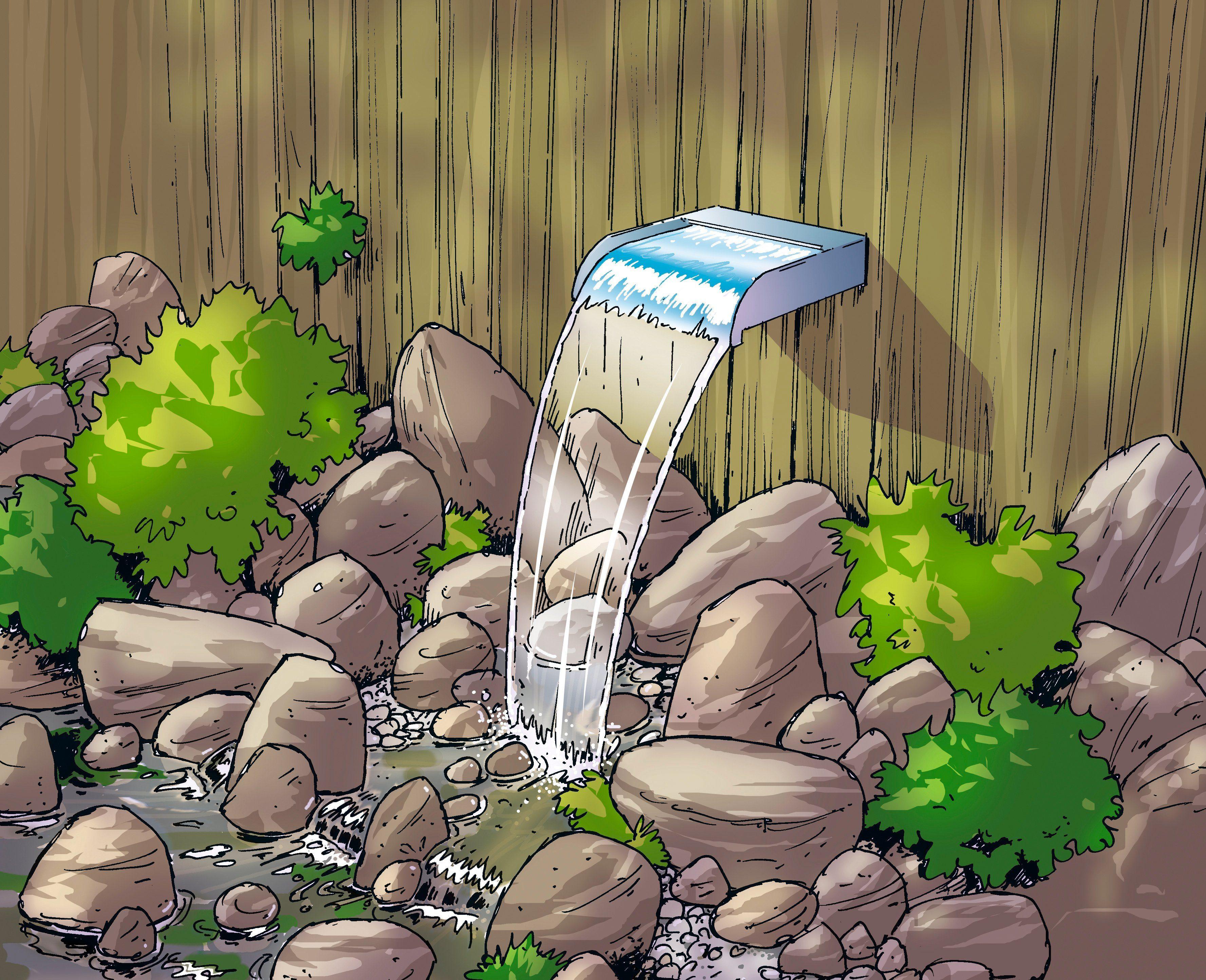 UBBINK Wasserfall »NEVADA 60«, BxTxH: 60x33x13 cm