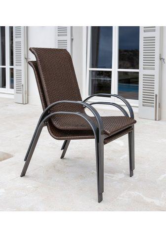 MERXX Sodo kėdė »Côte d´Azur« (2vnt.) Aliumi...