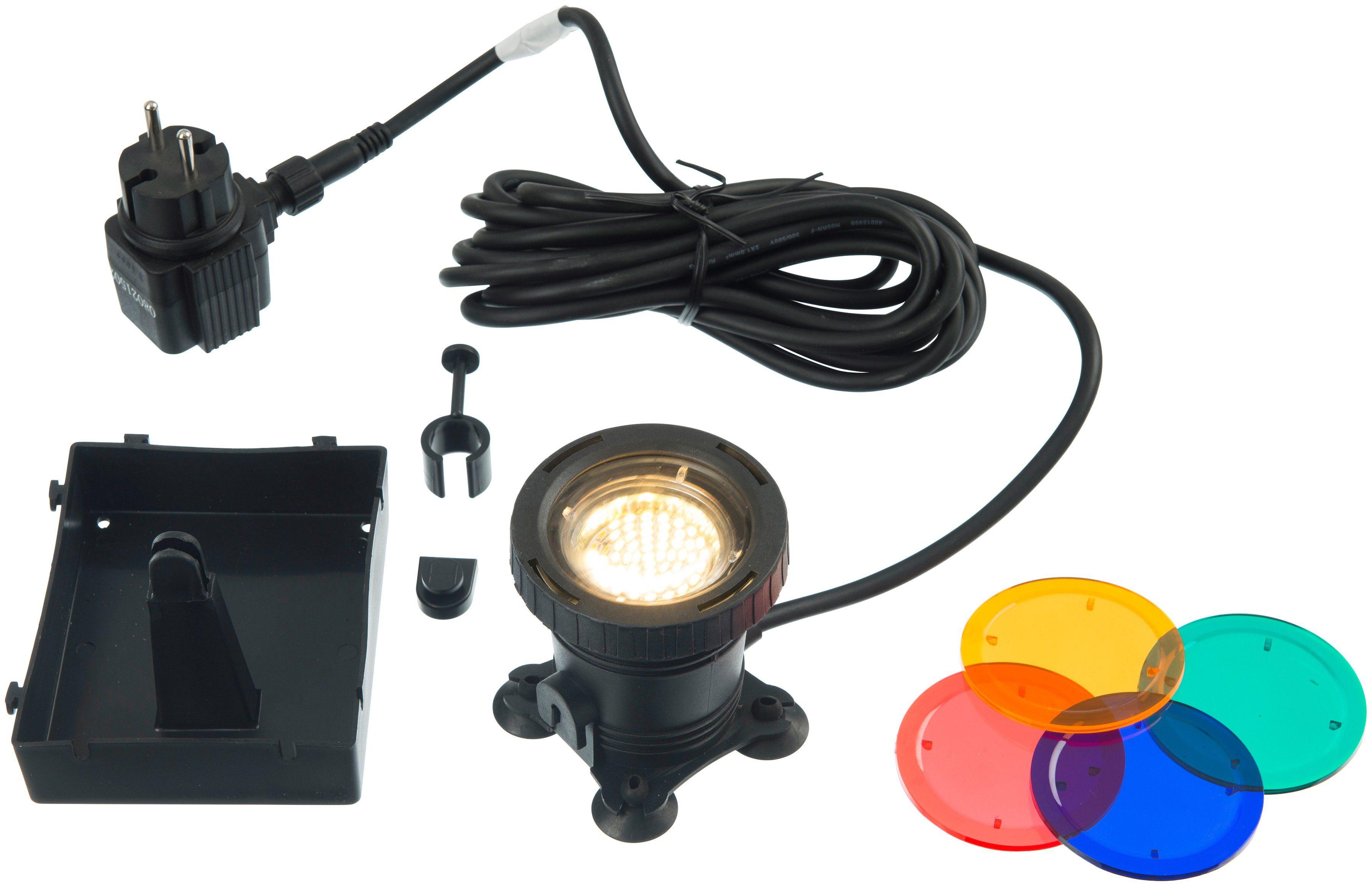 UBBINK Unterwasser-Spot »AquaLight 60 LED«, mit 4 Farbscheiben