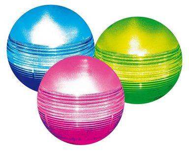 HEISSNER Solarleuchte , 3 Lichtkugeln mit Farbwechsel