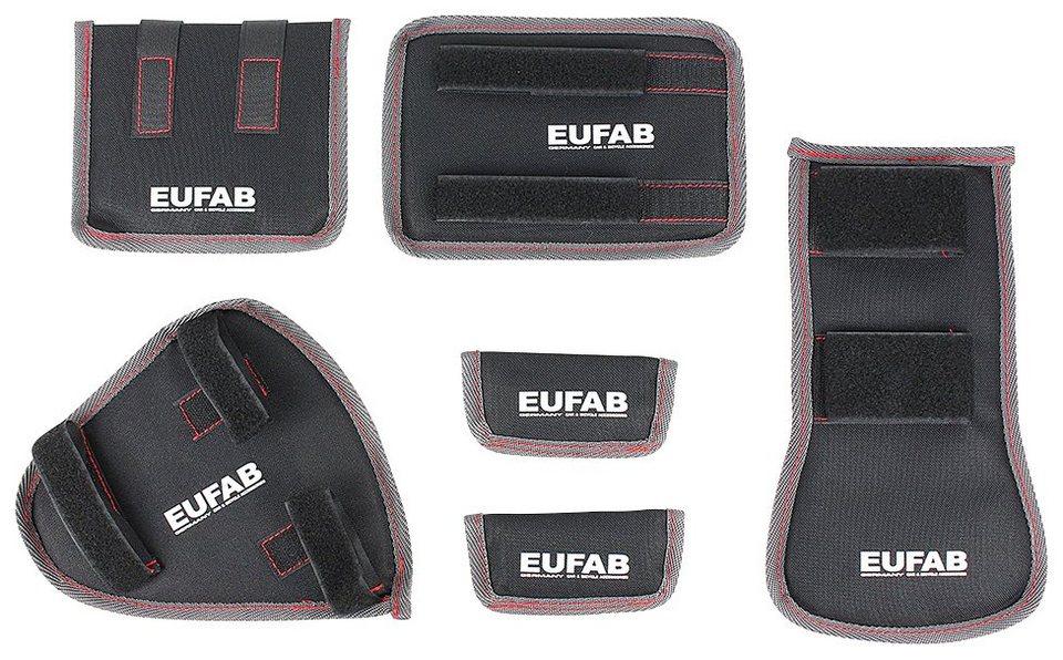 eufab befestigung 6 tlg fahrrad transport schutz online. Black Bedroom Furniture Sets. Home Design Ideas