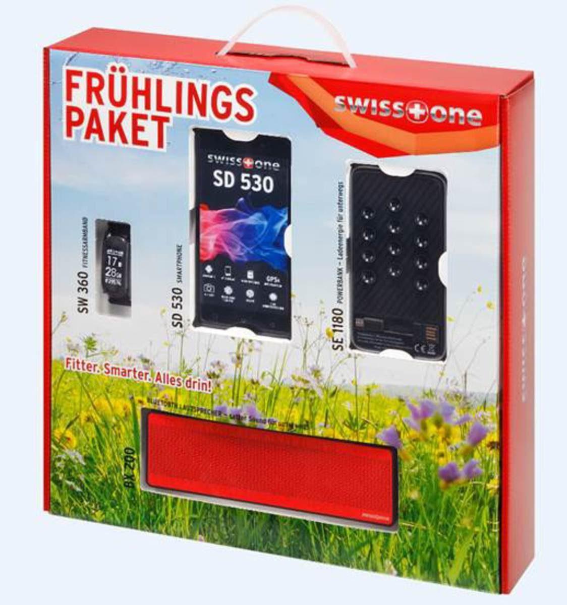 swisstone Smartphone-Set »Frühlings-Paket (SD 530,SW 360,BX 200,SE 1180)«