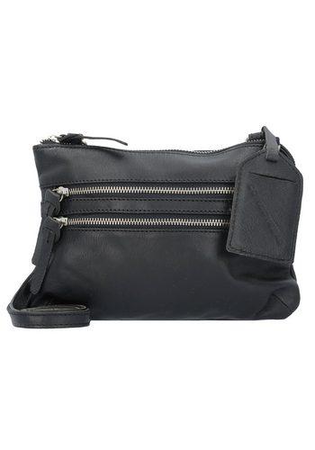 Damen,Kinder,Jungen Cowboysbag Bag Tiverton Umhängetasche Leder 24 cm schwarz | 08718586572423