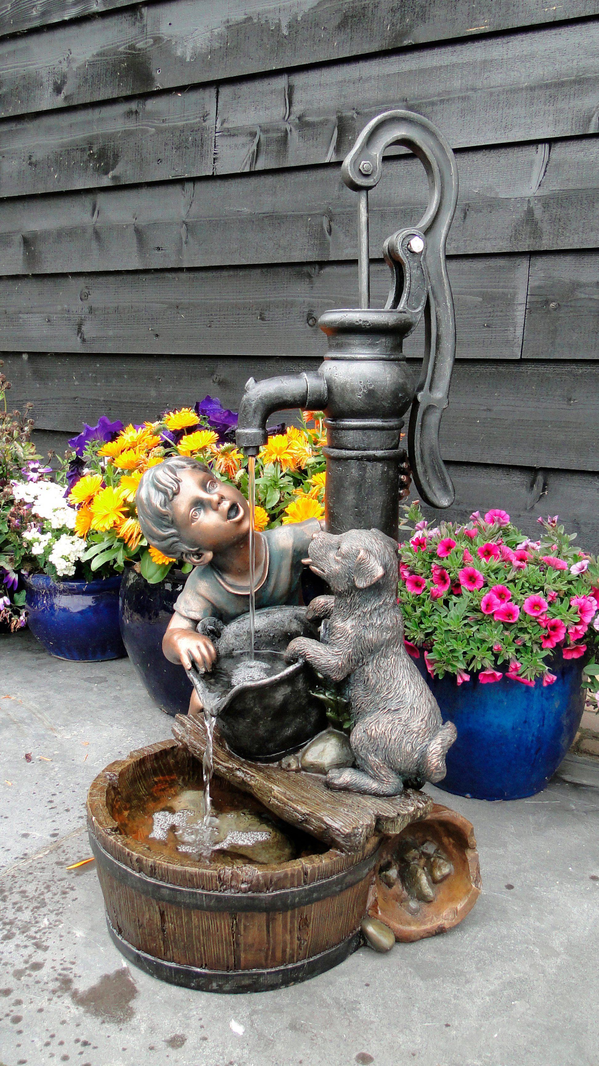 ACQUAARTE/UBBINK Gartenbrunnen »Regina«, BxTxH: 38x40,5x77 cm