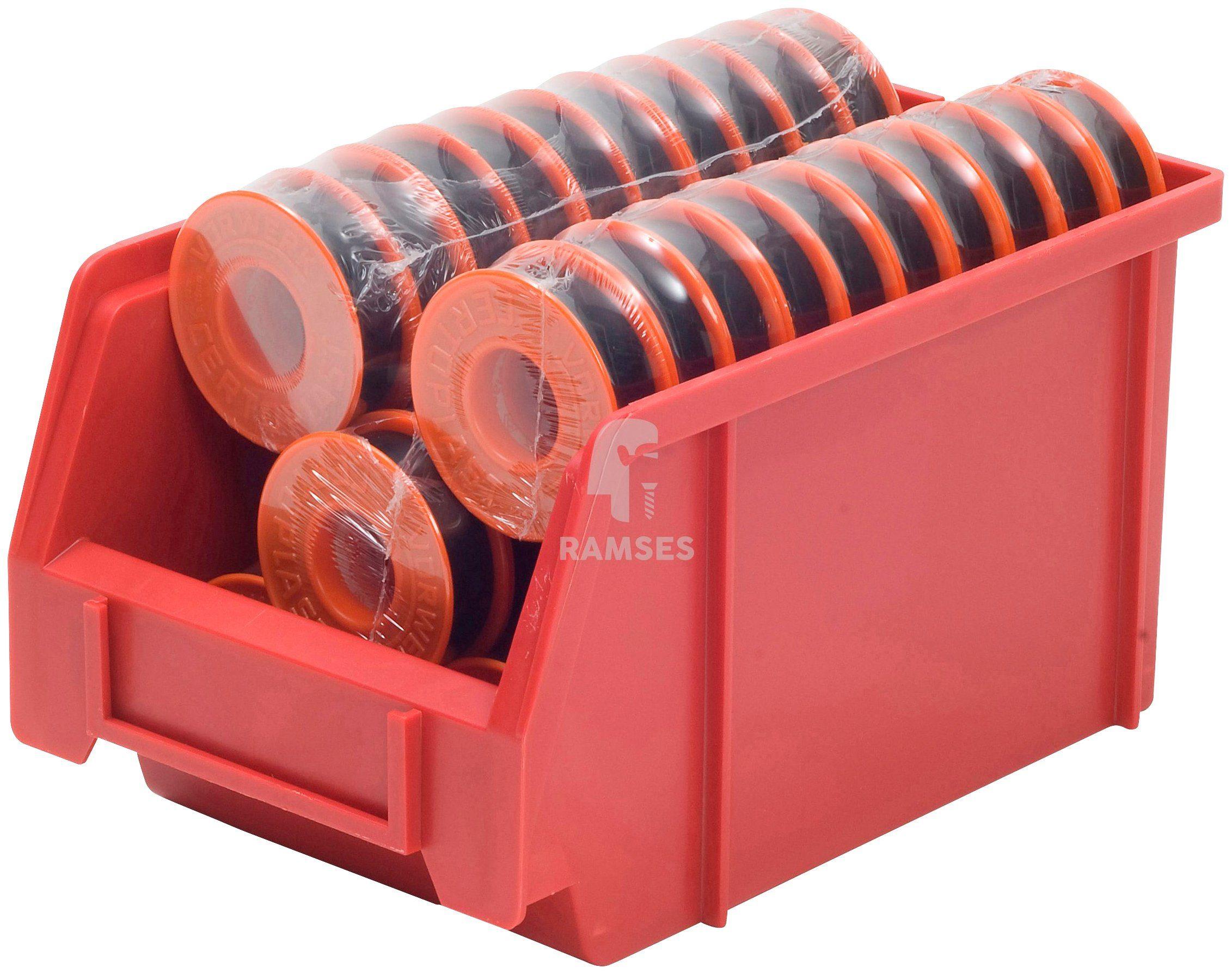 RAMSES Isolierbandsortiment , 50 Rollen á 15 mm 10 Meter