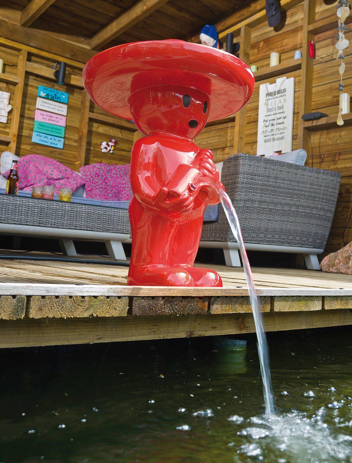 UBBINK Wasserspiel »BOY Mexicano III«, BxTxH: 43x43x67 cm, rot