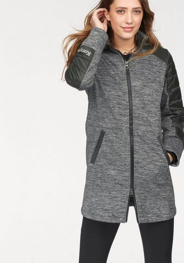 KangaROOS Softshelljacke in sportlicher Melange-Optik