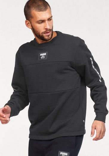 PUMA Sweatshirt »REBEL BLOCK CREW FL«