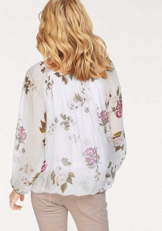 ZABAIONE Druckbluse »RONDA« mit floralem Print