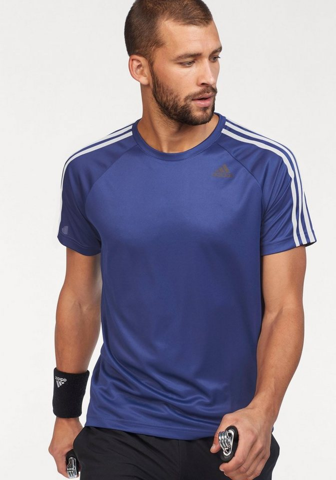 adidas Performance Funktionsshirt »DESIGN TO MOVE TEE 3 STRIPES ... b865802453