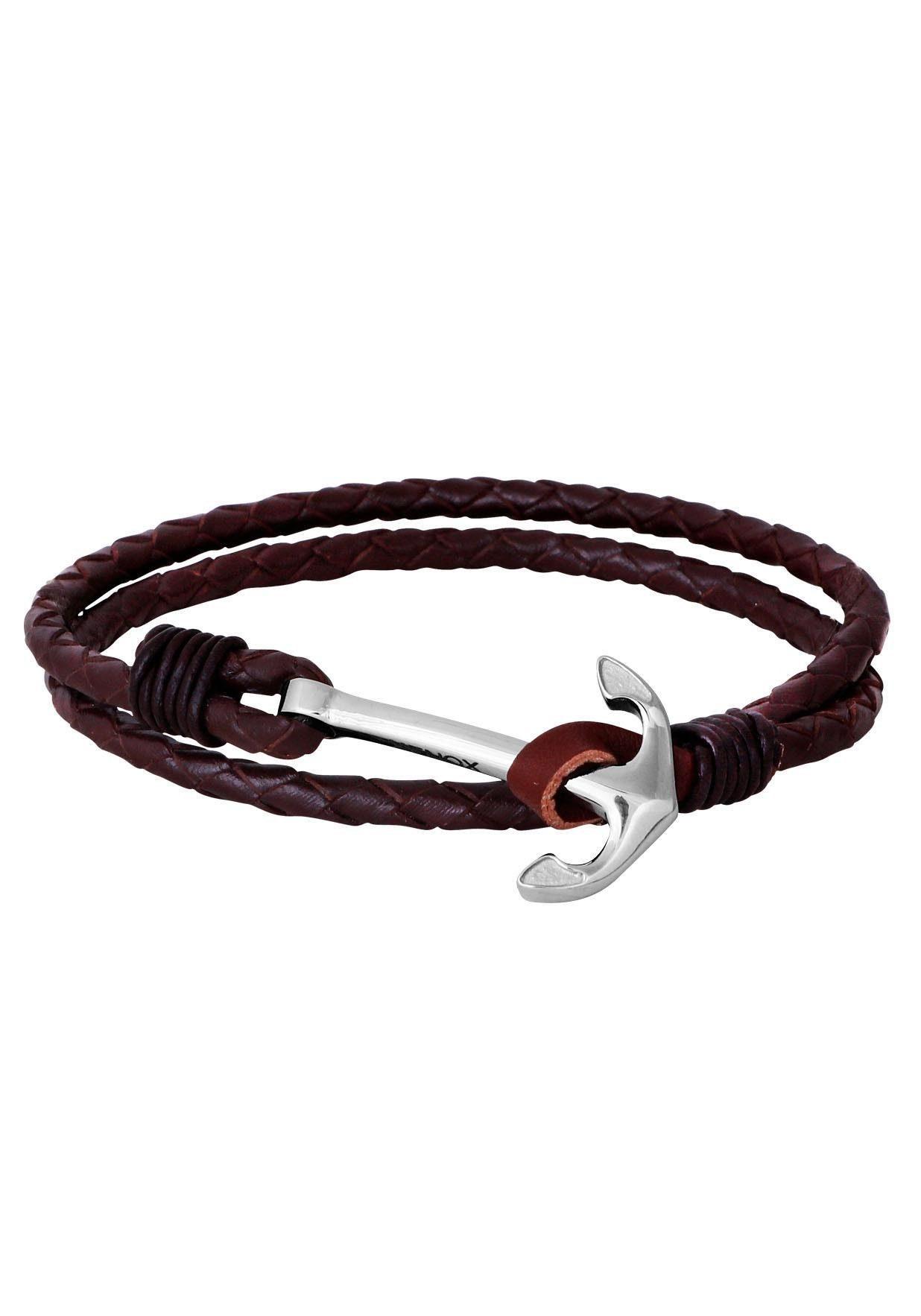 XENOX Lederarmband »Leather & more, X4503«
