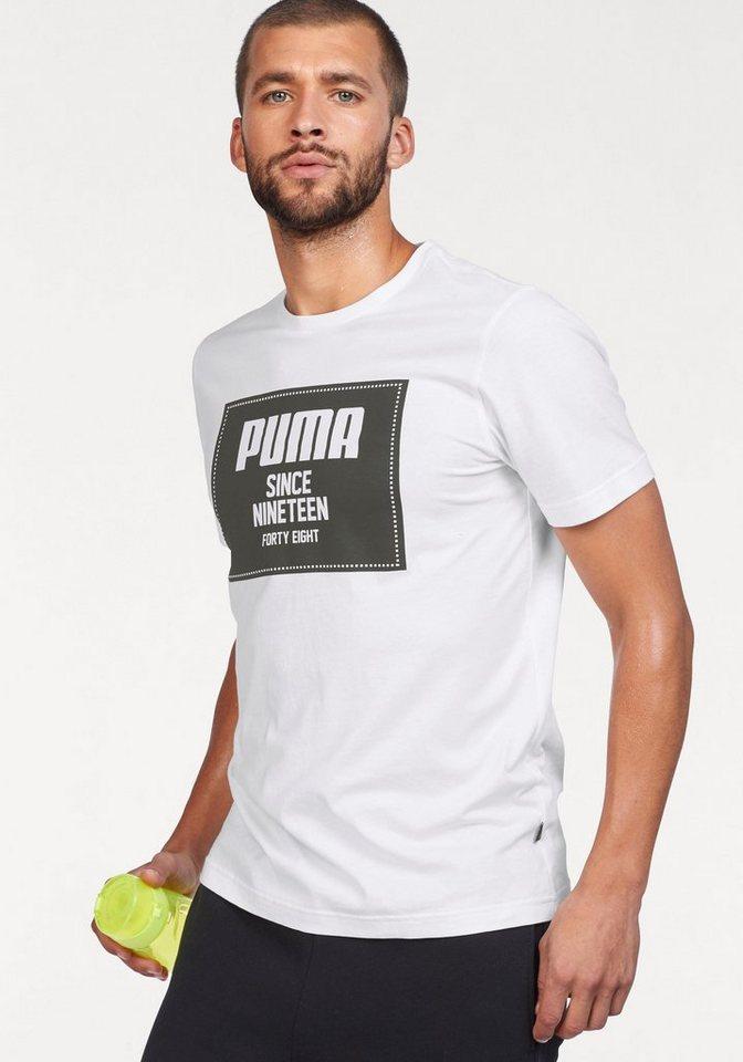 f5b8b20e7929 PUMA T-Shirt »REBEL BLOCK BASIC TEE« online kaufen
