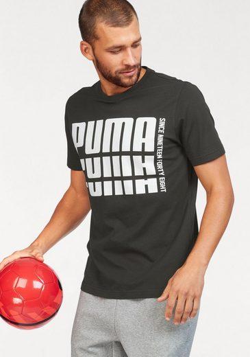 PUMA T-Shirt »REBEL BOLD BASIC TE«