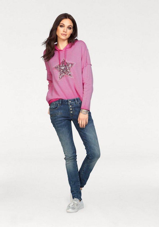 ZABAIONE Sweatshirt »BELLERIE« mit Paillettenstern