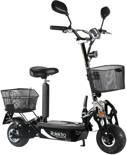 Rolektro E-Scooter »Rolektro eco-Fun 20 V.2 SE, Schwarz«, 500 W, 20 km/h