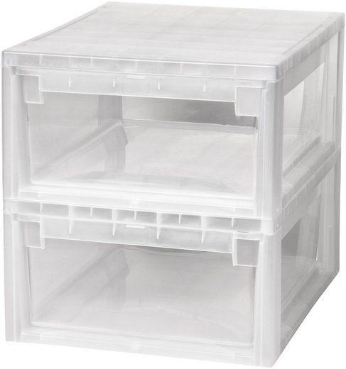 Kreher Aufbewahrungsbox (Set, 2 Stück), Größe M