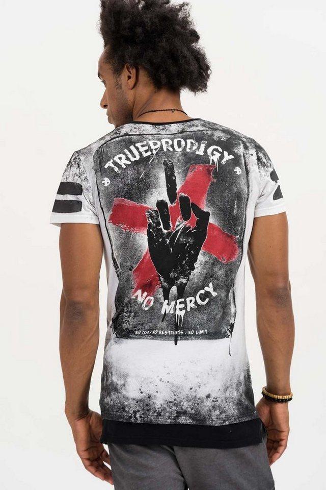 - Herren trueprodigy T-Shirt Attitute Of Life schwarz   04057124038064