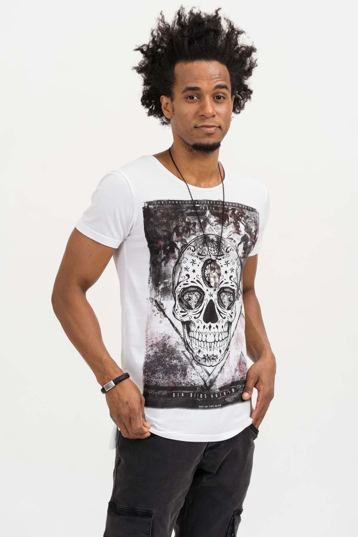 Herren trueprodigy T-Shirt Festival Of The Dead weiß | 04057124035926