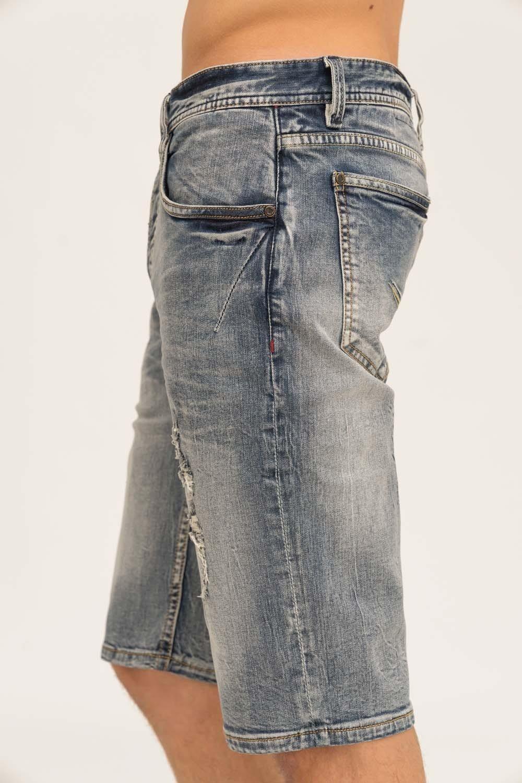 Herren trueprodigy Jeansshorts BENT #629 blau | 04057124017441