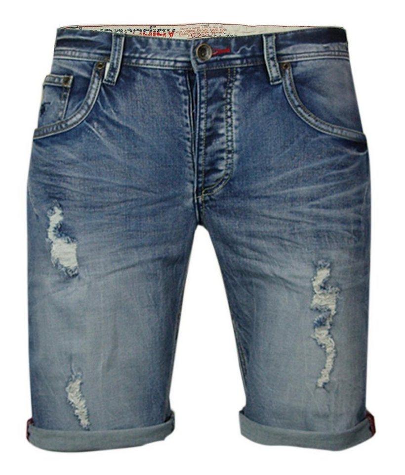 - Herren trueprodigy Jeansshorts BENT #629 blau | 04057124017441