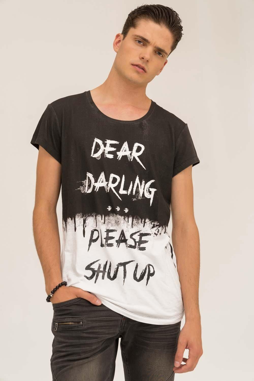 Herren trueprodigy T-Shirt Darling…? schwarz | 04057124039351