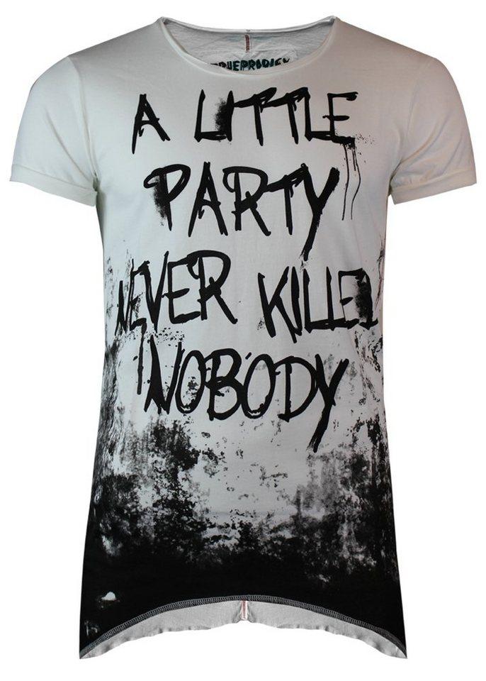 - Herren trueprodigy T-Shirt a little party weiß | 04057124026368