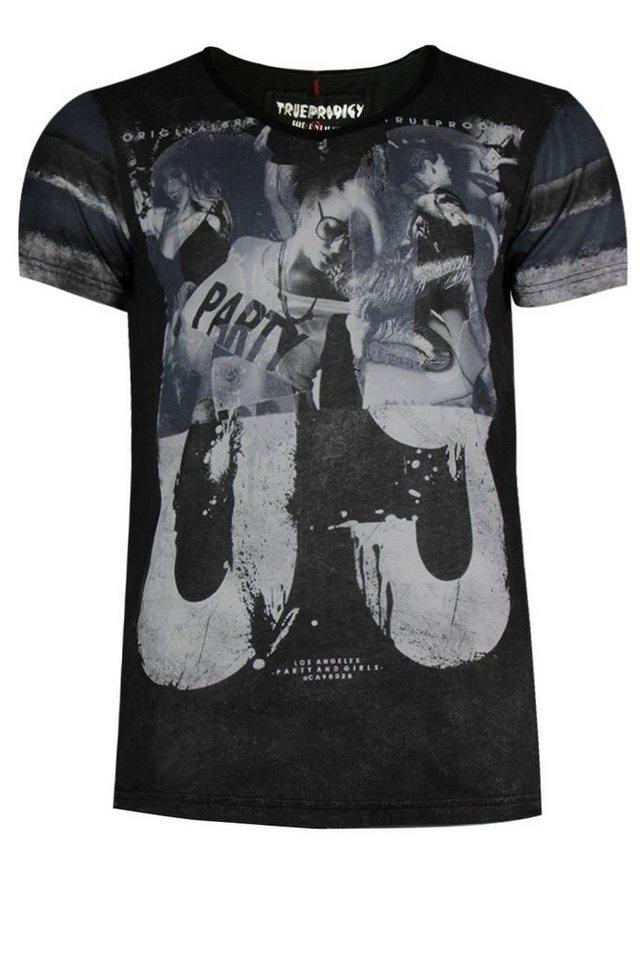 - Herren trueprodigy T-Shirt The 69 blau | 04057124029581