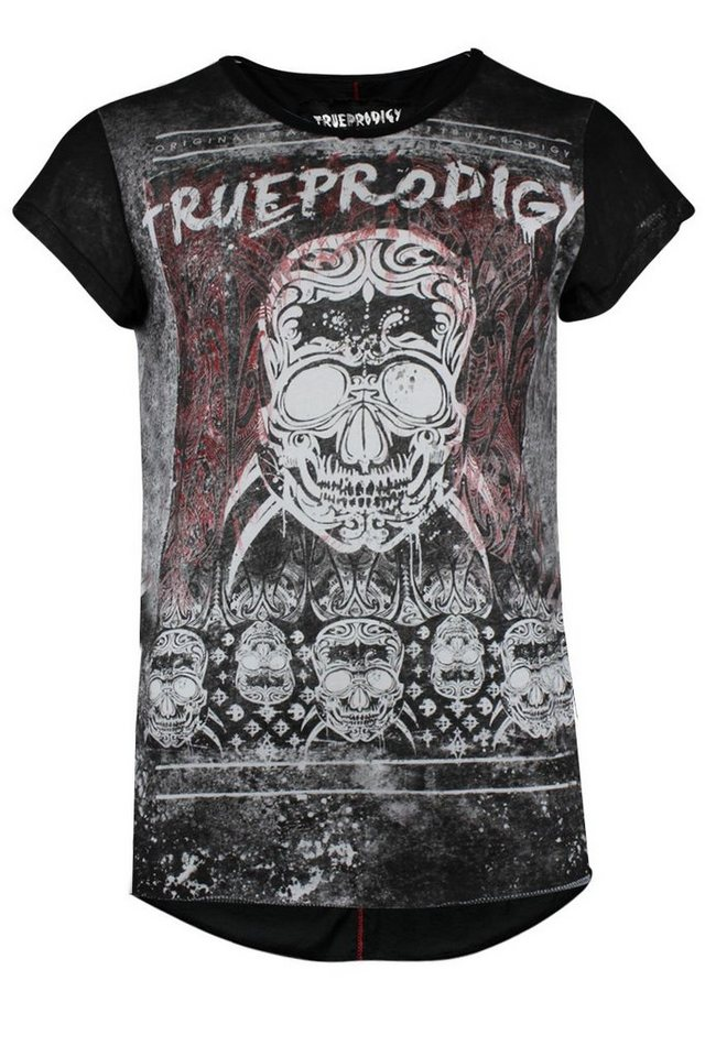 - Herren trueprodigy T-Shirt La Muerte schwarz | 04057124030266