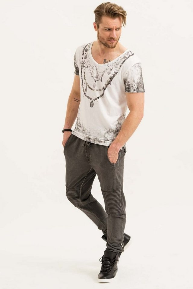 - Herren trueprodigy T-Shirt Chain weiß | 04057124035421