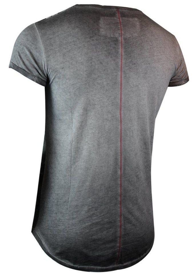 - Herren trueprodigy T-Shirt Texas hold em blau, grau | 04057124020045