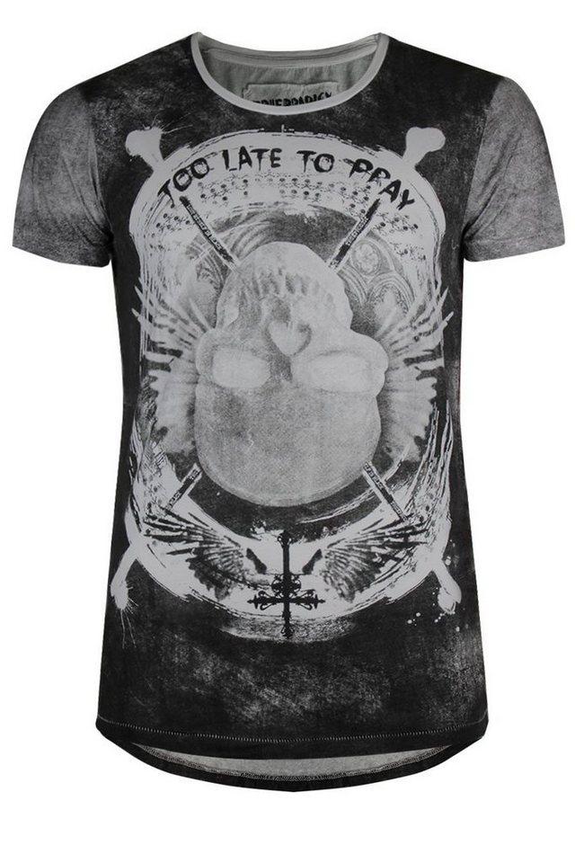 - Herren trueprodigy T-Shirt Too late to pray schwarz | 04057124030891