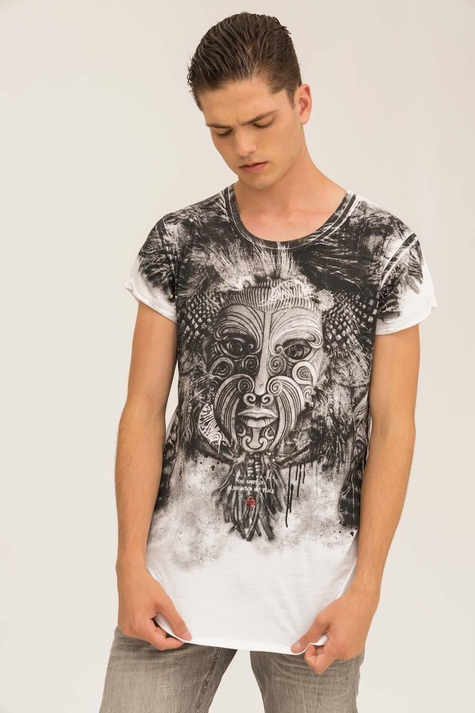 Herren trueprodigy T-Shirt Yoruba weiß | 04057124038552