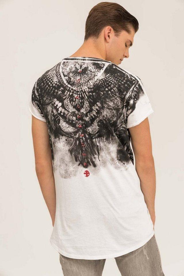 - Herren trueprodigy T-Shirt Yoruba weiß | 04057124038552