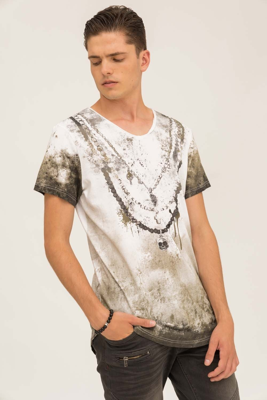 Herren trueprodigy T-Shirt Chain Vintage grün   04057124036022