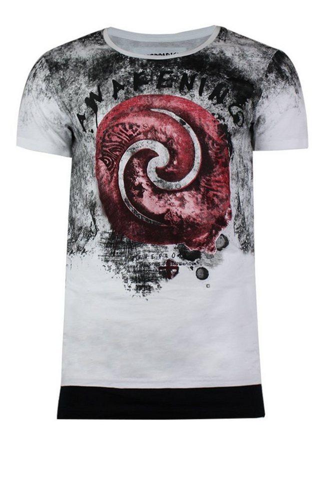 - Herren trueprodigy T-Shirt Randomly weiß   04057124039245