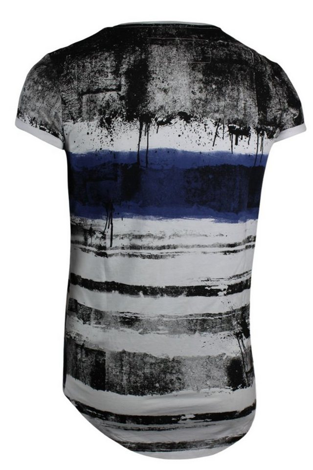 - Herren trueprodigy T-Shirt blue zebra blau   04057124023695