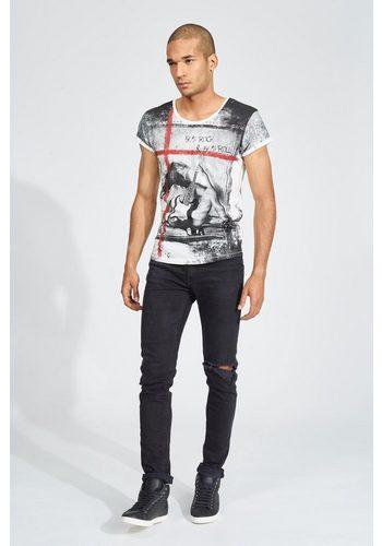- Herren trueprodigy T-Shirt Rock & Roll weiß | 04057124012606