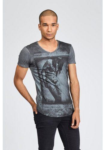 - Herren trueprodigy T-Shirt Labeled Girl grau   04057124012156