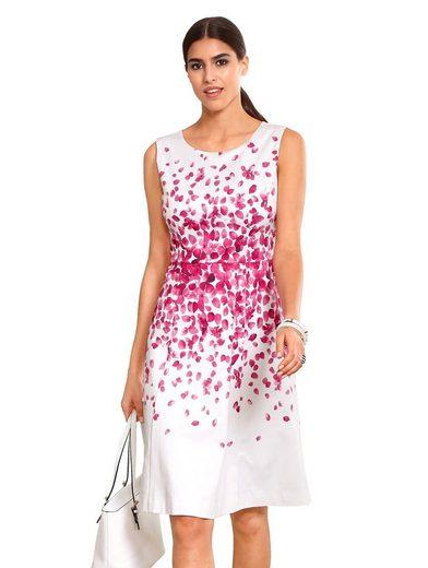 Alba Moda Kleid mit auffälligem Blumenprint