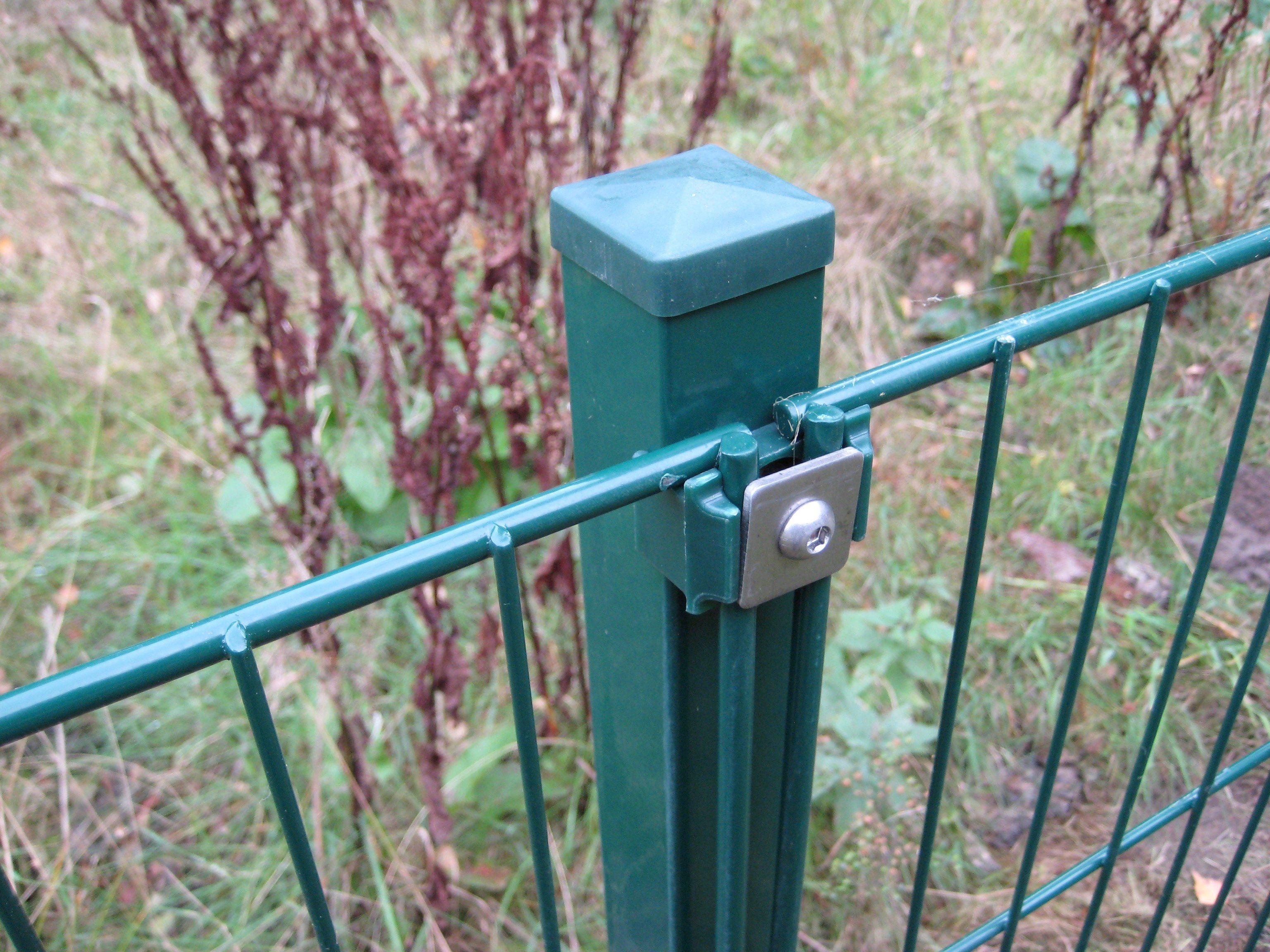 PEDDY SHIELD Zaun »Einzelstabmatte«, Breite: 200 cm, grün | Garten > Zäune und Sichtschutz | Stahl | Peddy Shield
