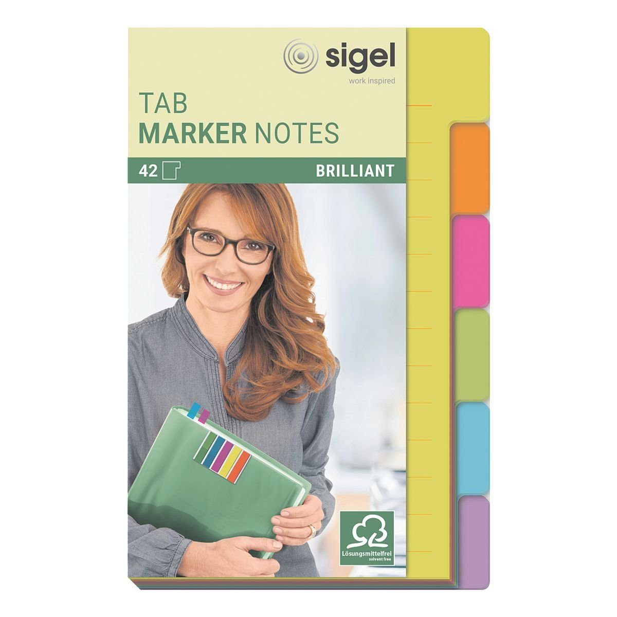 Sigel Haftnotizen »Tab Marker Notes schmal«