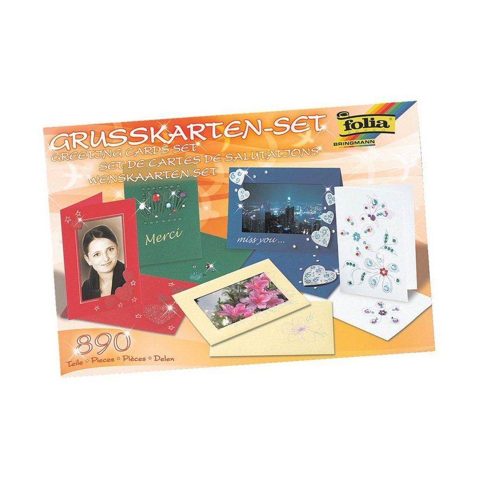 Folia Grußkarten-Set (890-teilig) online kaufen
