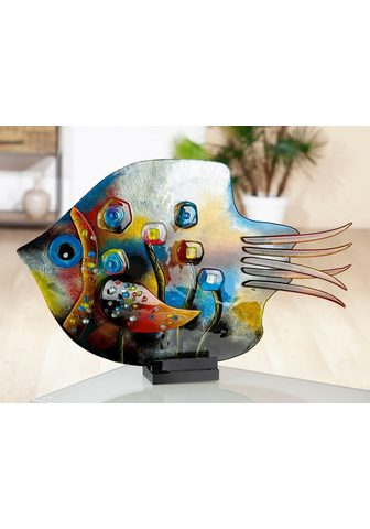 GILDE GLAS art Dekoratyvinė figurėlė »Skulptur Fisch ...