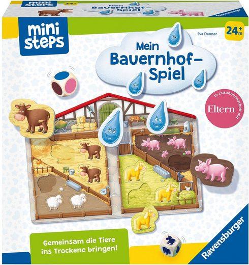 Ravensburger Spiel, »ministeps® Unser Bauernhof-Spiel«, Made in Europe, FSC® - schützt Wald - weltweit