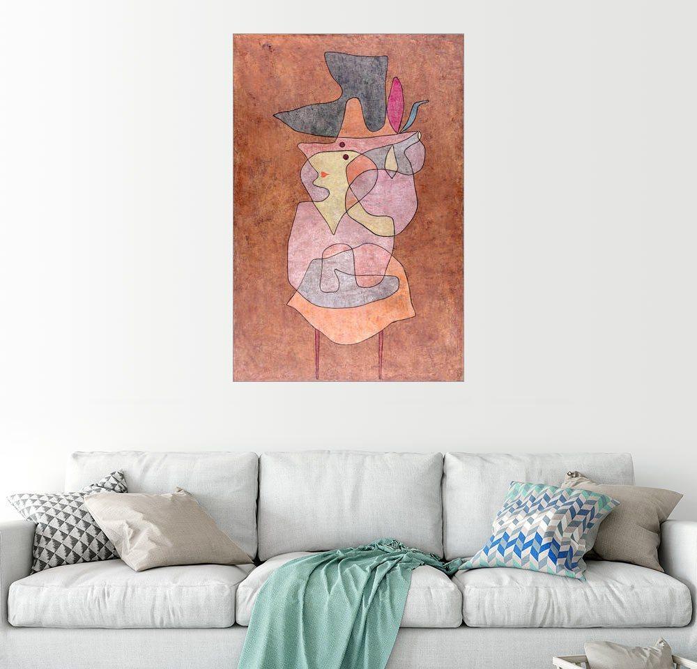Posterlounge Wandbild - Paul Klee »Dame Dämon«